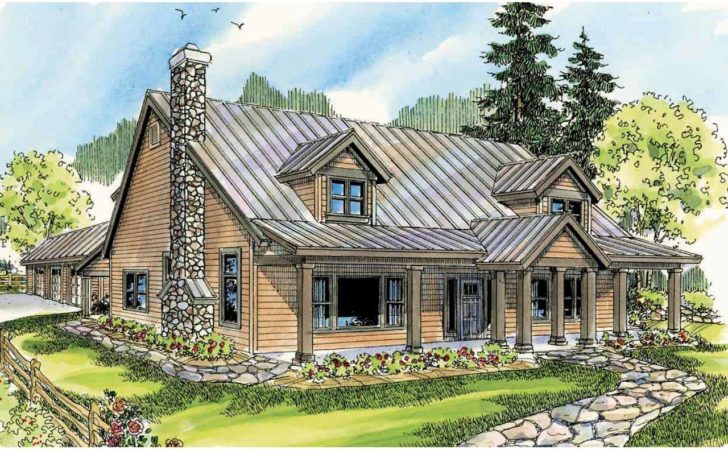 Lodge Style House Plans Elkton Associated Designs