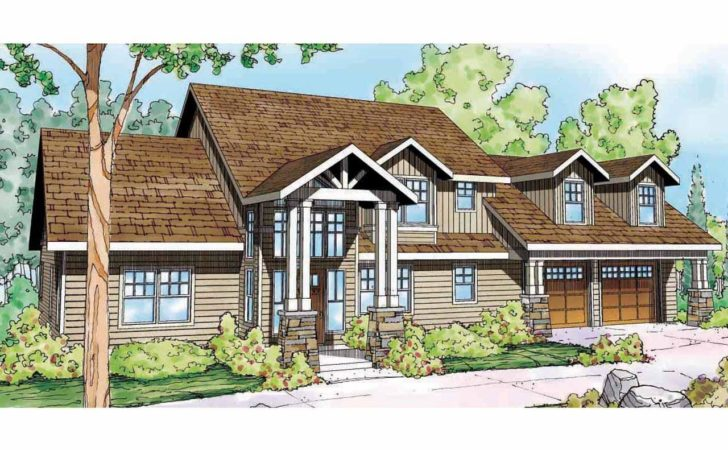 Lodge Style House Plans Grand River Associated
