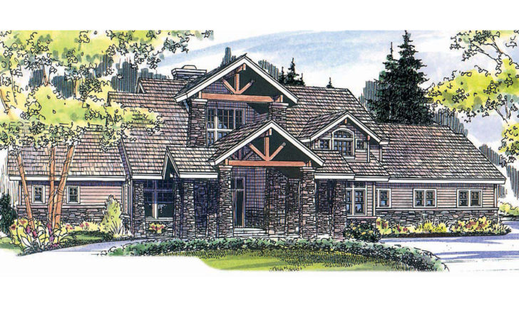 Lodge Style House Plans Timberfield Associated