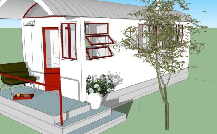 Loft Tiny House Design