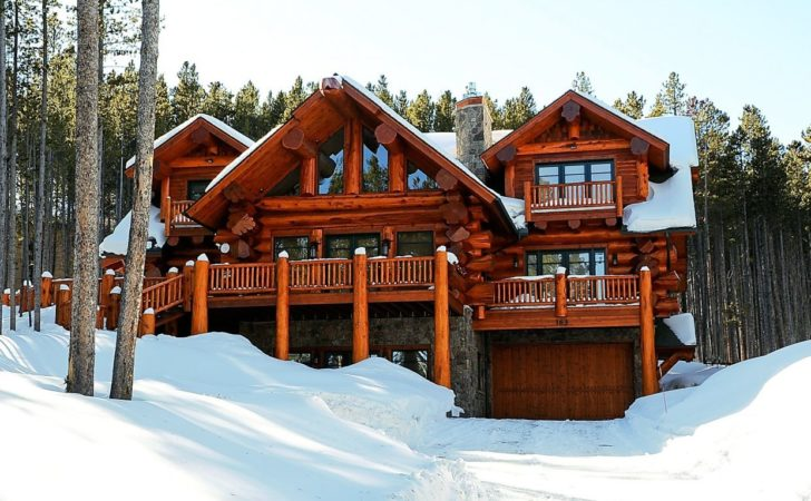 Log Cabin Allure Mansion Summitdaily