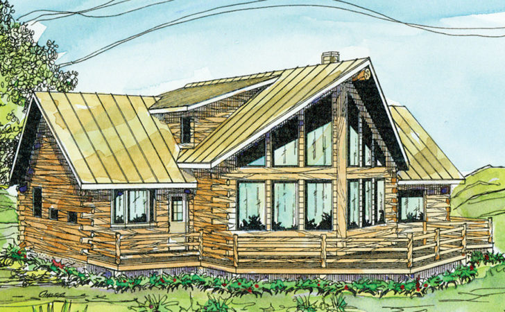 Log Cabin Floor Plans House Home