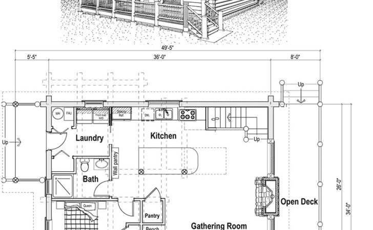 Log Cabin Home Plans Loft Woodworktips