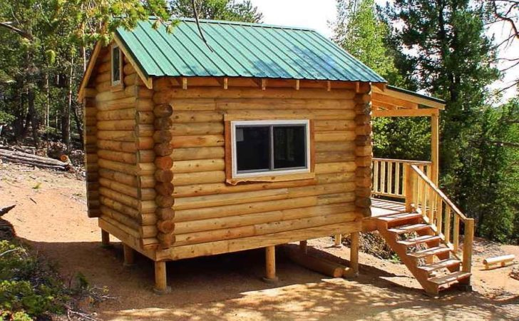 Log Cabin Small Cabins Plans Kits House