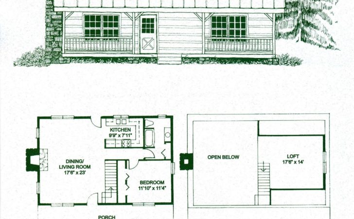 Log Home Package Kits Cabin Lonesome Pine