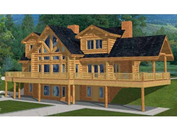 Log House Plans Eplans Country