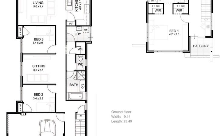 Long Narrow House Plans Home