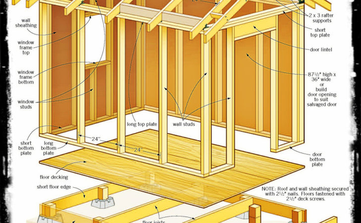 Looking Shed Plans Goehs