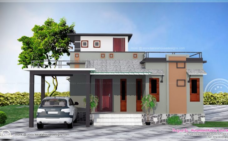 Low Budget House Design Indian Home Style