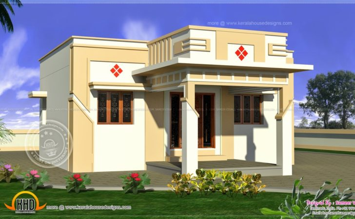 Low Cost Bedroom Indian Home Plan Inspiration