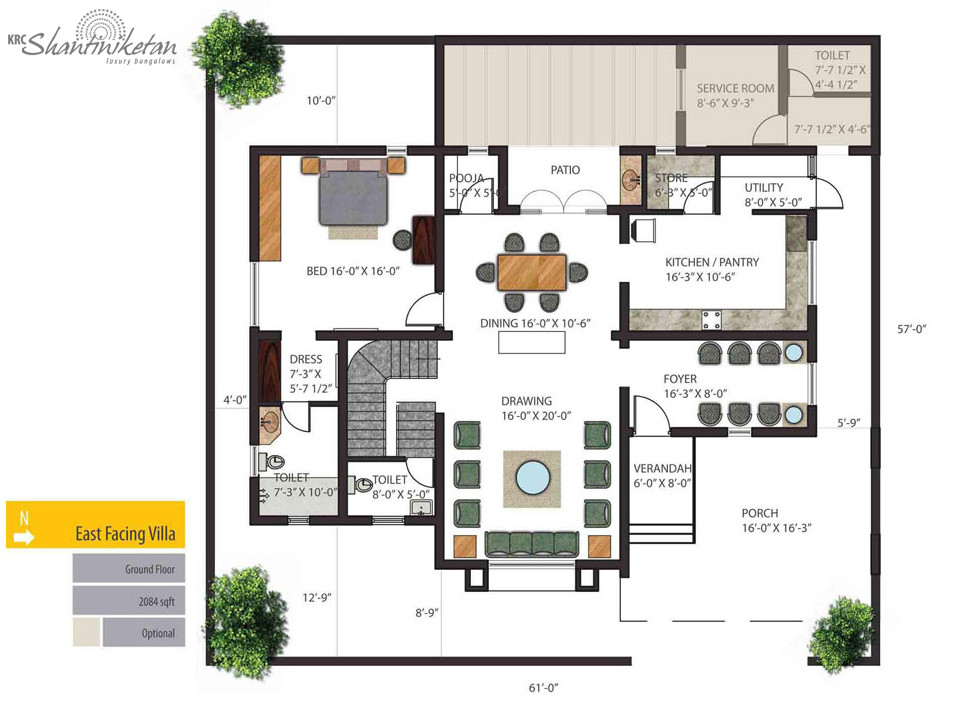 Luxury Bungalow Floor Plan Joy Studio Design