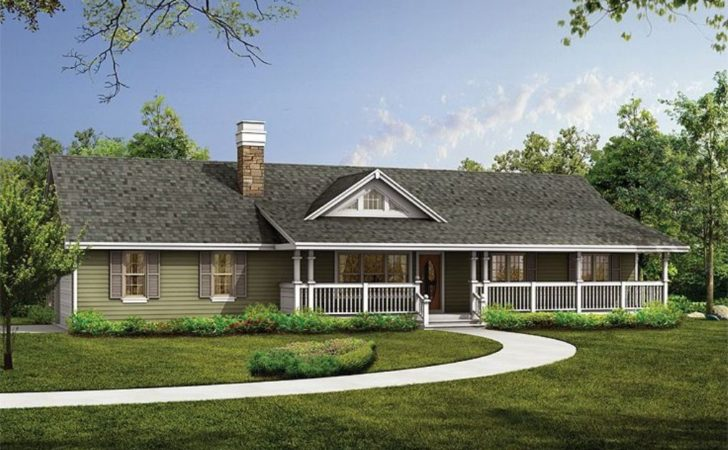 Luxury Country Ranch House Plan Design Office