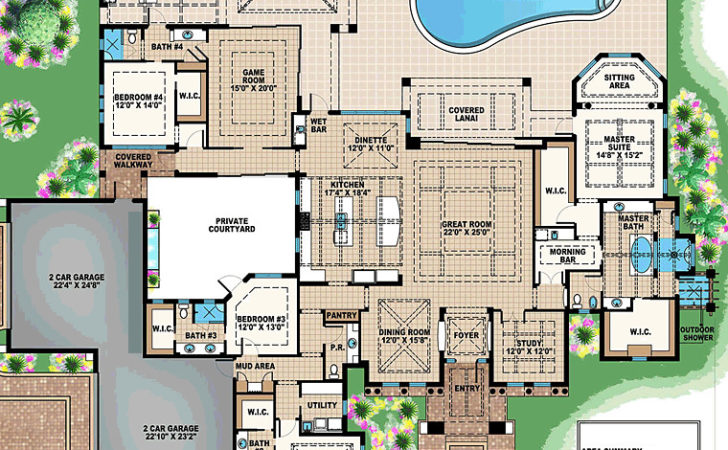 Luxury Estate Floor Plan Abg Alpha Builders Group