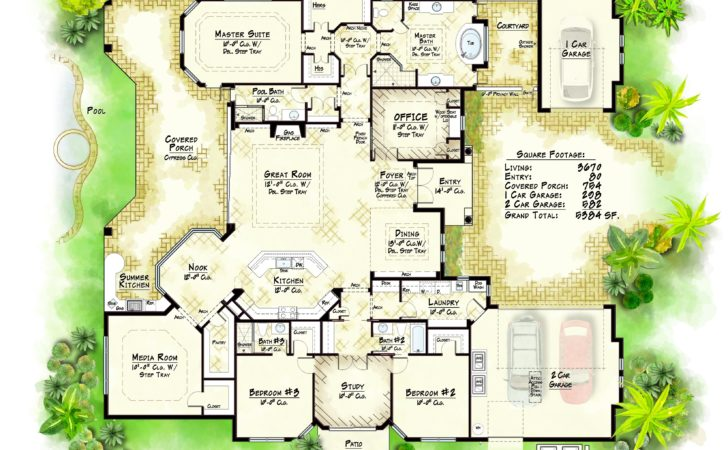 Luxury Home Floor Plans Casagrandenadela