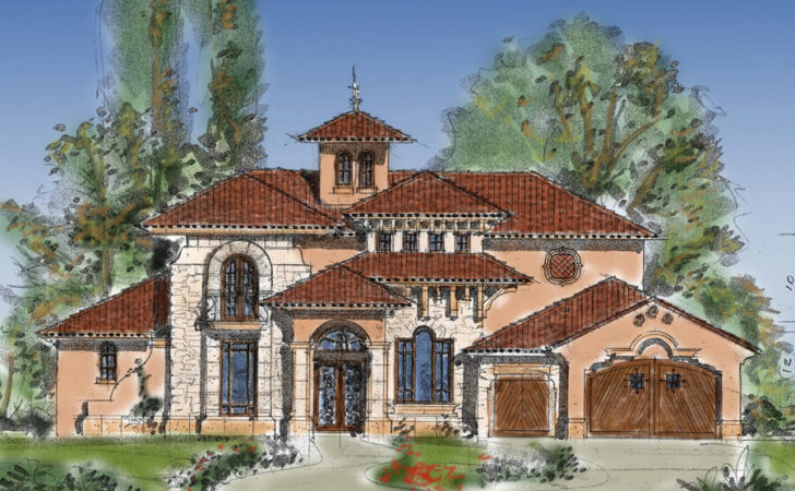 Luxury Home Plans French Country Tuscan Ranch English