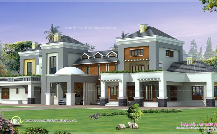 Luxury House Plan Kerala Home Design