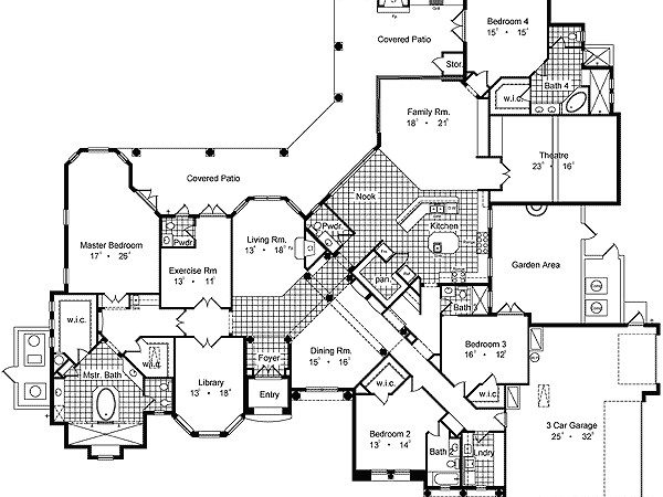 Luxury House Plans Beautiful Houses