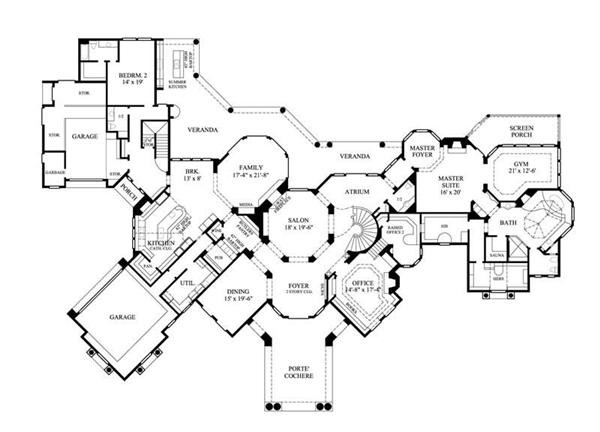 Luxury House Plans Elevators Cottage