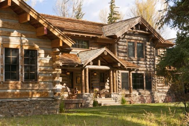 Luxury Log Homes Your Happiness Naindien