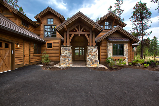 Luxury Mountain Craftsman House Plan