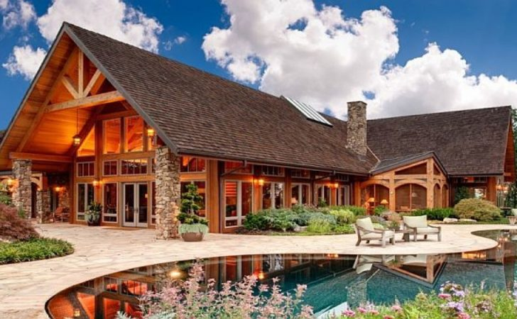 Luxury Mountain Home Design Rustic Plans