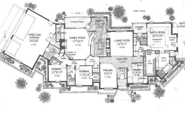 Luxury Ranch Home Designs Landscaping Design