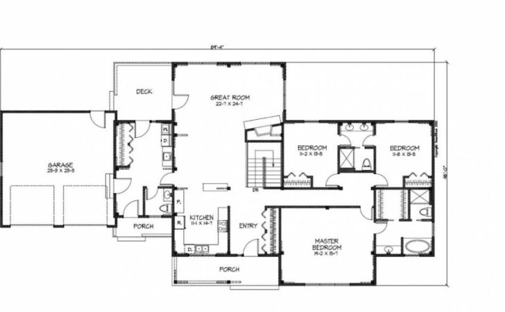 Main Floor Plan Unique Ranch House Plans Awesome
