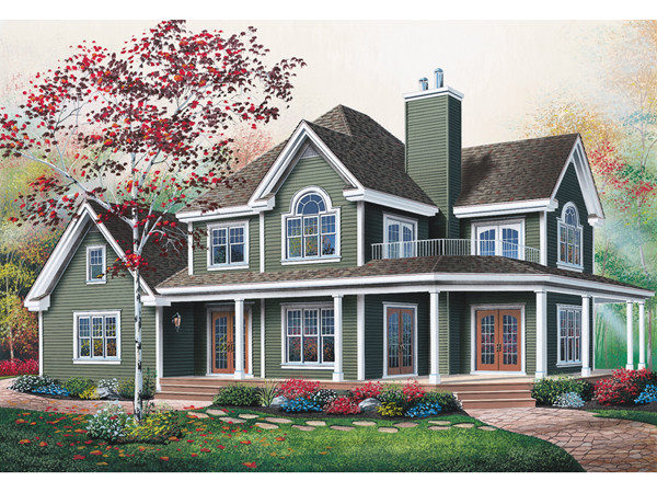 Manning Country Farmhouse Plan House Plans