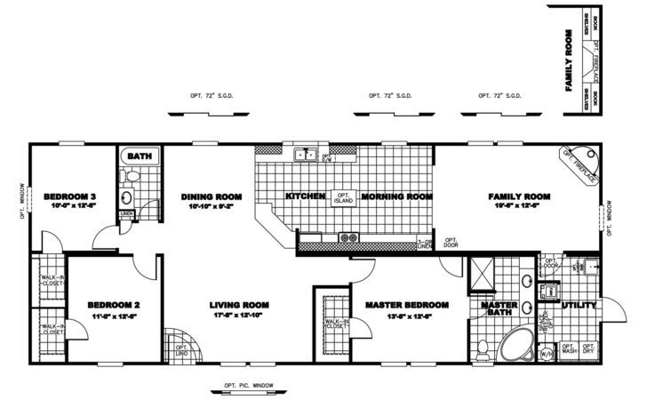 Manufactured Home Floor Plan Clayton Dream
