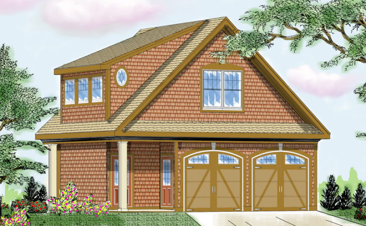 Marcheline Two Story Garage Plan House Plans