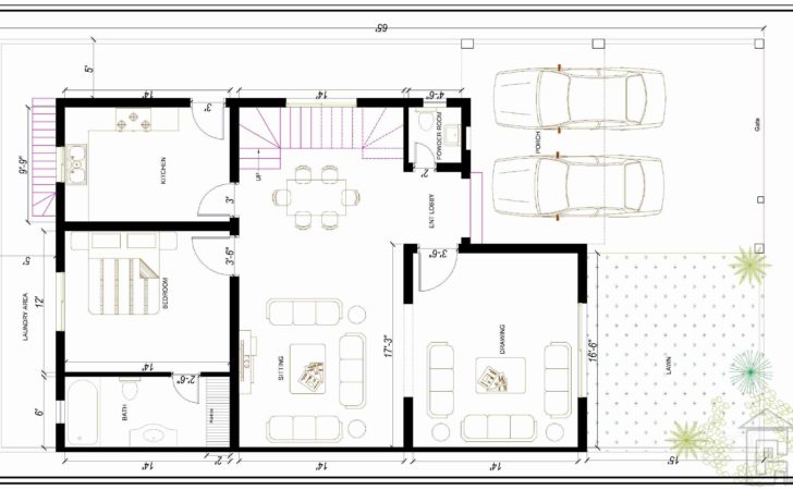 Marla House Plan Design Gharplans