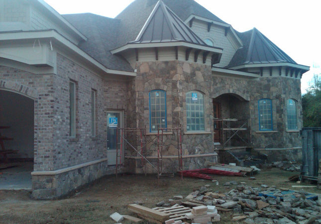 Marvelous Brick Stone House Plans Homes
