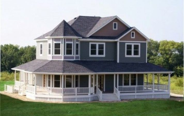 Marvelous Home Plans Wrap Around Porches House