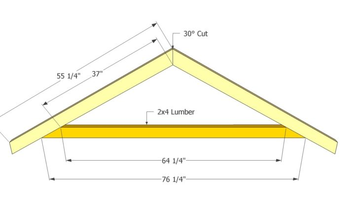 Marvelous Shed Roof Plans Truss
