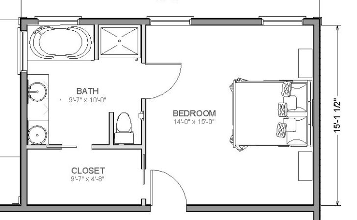 Master Bedroom Ensuite Design Layout Home Pleasant