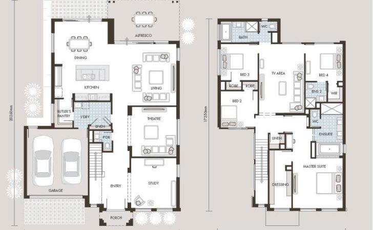 Masters Bedroom Layout