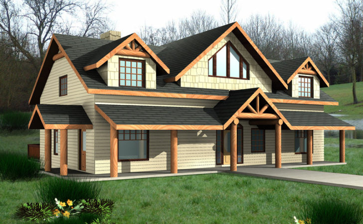 Mayfield Rustic Bungalow Home Plan House Plans