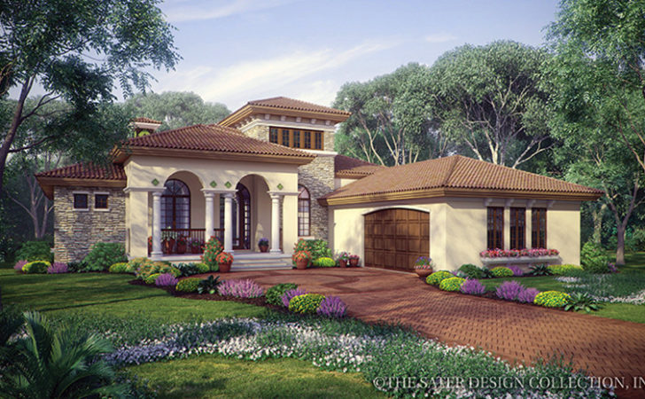 Mediterranean House Plans Designs