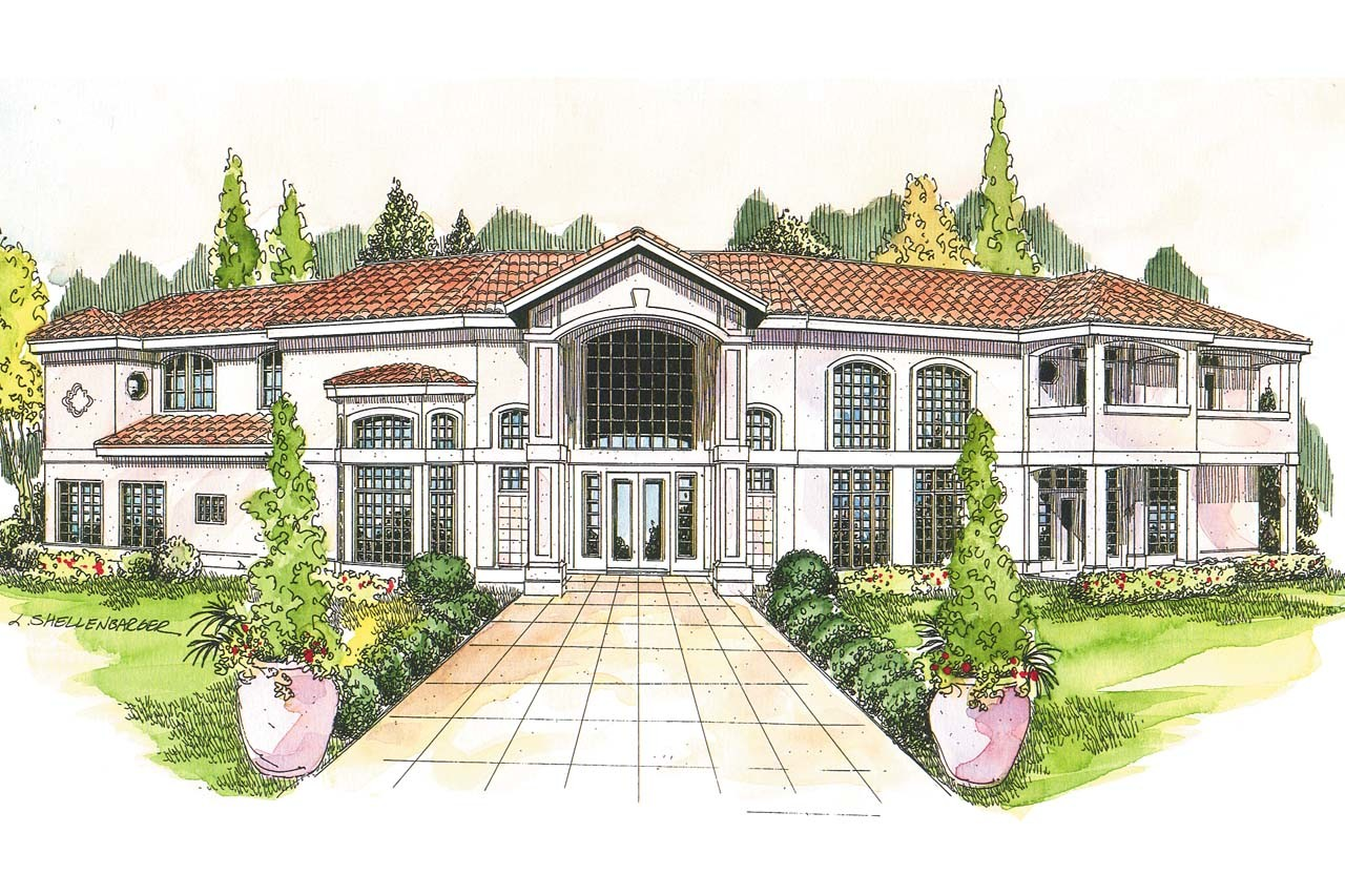 Mediterranean House Plans Veracruz Associated
