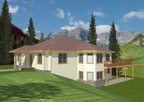 Melita Sloping Lot Home Plan House Plans More