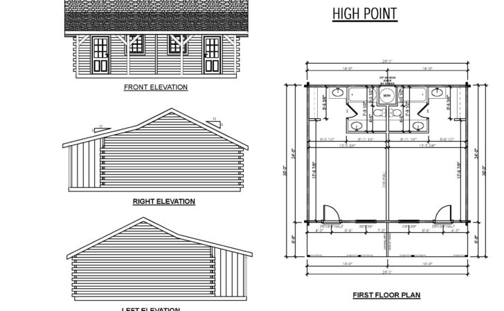 Metal Building Hunting Lodge Plans