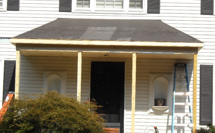 Metal Porch Roof Burke Consumer Construction Inc