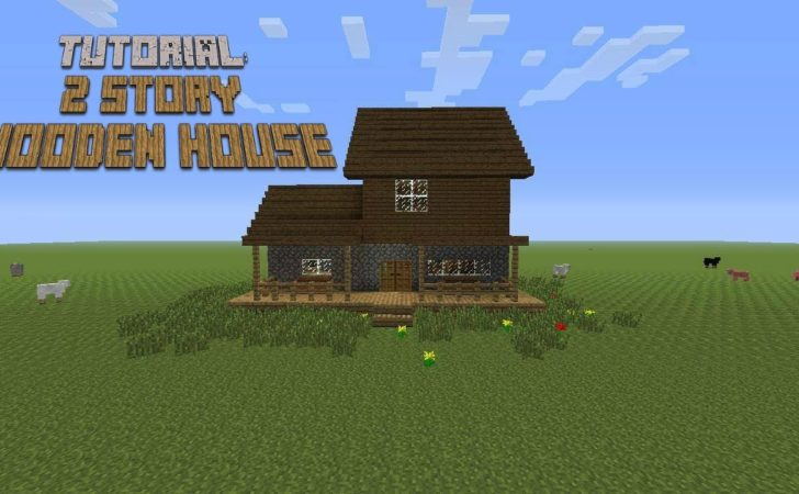 Minecraft Build Story Wooden House Tutorial