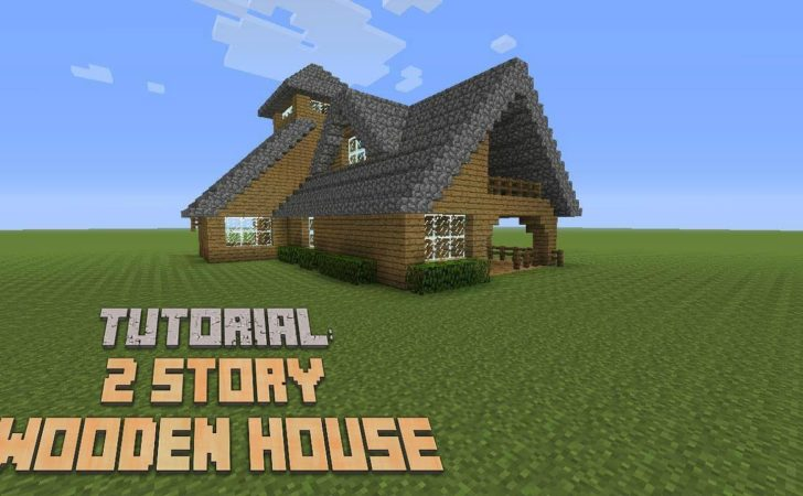 Minecraft Build Story Wooden House Version