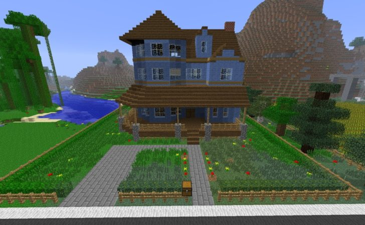 Minecraft Building Victorian House Time Lapse Youtube