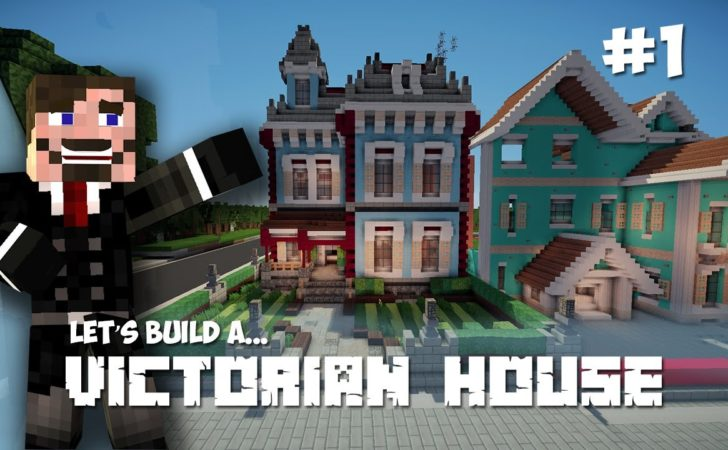 Minecraft Lets Build Victorian House Part Youtube