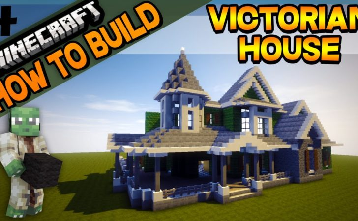 Minecraft Victorian House Build Youtube
