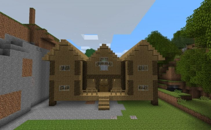 Minecraft Wood House Designs Great
