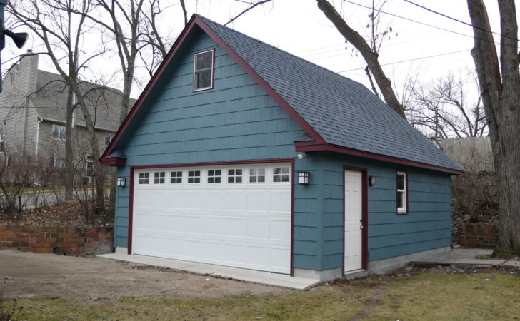Minneapolis Two Story Garages