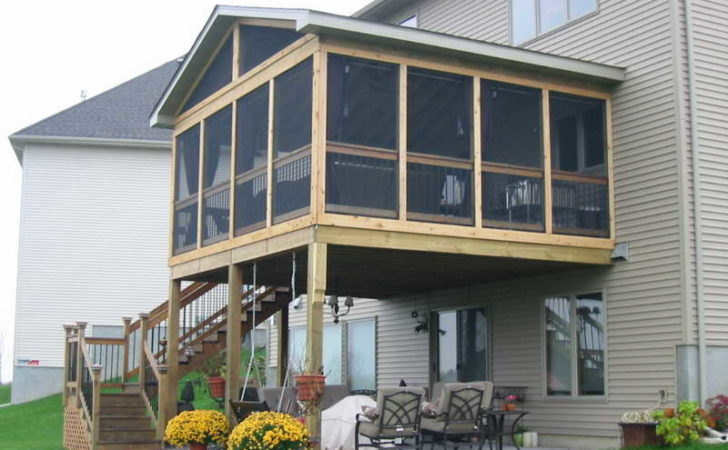 Miscellaneous Screened Porch Cost